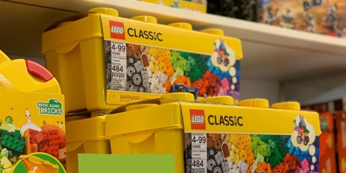 $10 Off $50+ LEGO Purchase on Amazon | Classic Boxes, Hidden Side & More