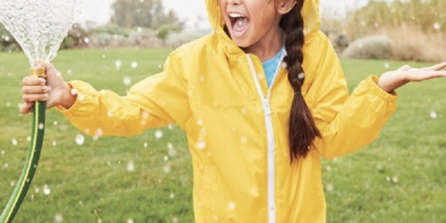 Lands' End Kids Rain Jackets from $10.98 + Free Shipping