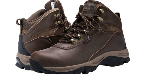 Men's Waterproof Hiking Boots Only $38.99 Shipped on Amazon