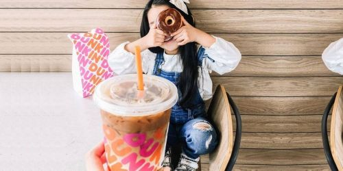Free Dunkin' Donut w/Beverage Purchase for DD Perks Members