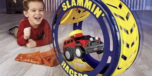 Little Tikes Slammin' Racers Turbo Tire Playset & Vehicle Only $6.65 on Amazon (Regularly $20)