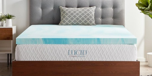 Gel Memory Foam Mattress Toppers from $39.99 on HomeDepot.com (Regularly $60+)
