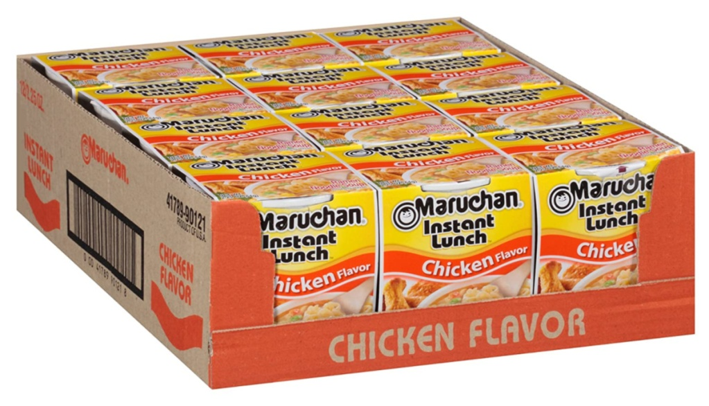 Maruchan Instant Lunch Cups of Noodles chicken flavor