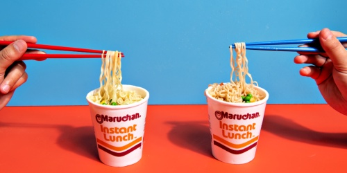 Ramen Instant Lunch Cups 12-Count Only $3.48 Shipped on Amazon | Just 29¢ Each