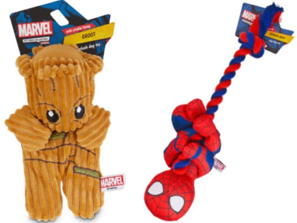 marvel superhero dog toys