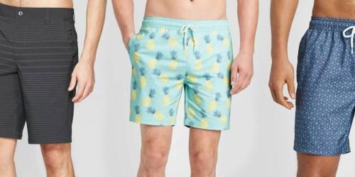 Buy 1, Get 1 Free Men's Swimwear on Target.com