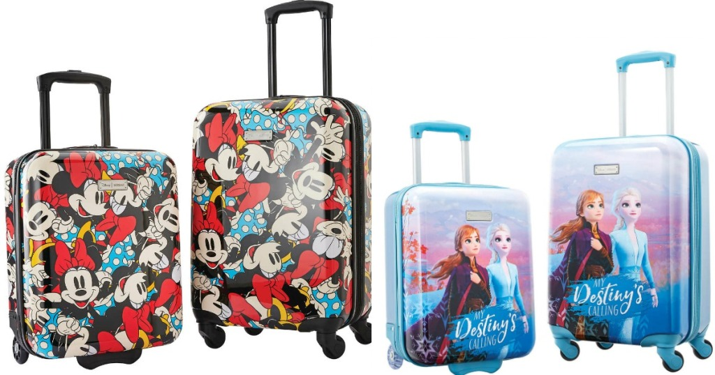 American Tourister Disney 2 Piece Luggage Sets Only 49 99 Shipped On Costco Com Hip2save Welcome to the official costco instagram account! american tourister disney 2 piece