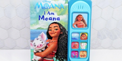 Disney Sound Books from $5.77 on Amazon | Moana, Frozen 2, & More