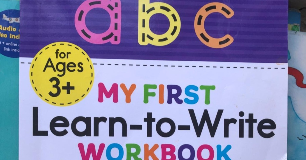 learn-to-write book