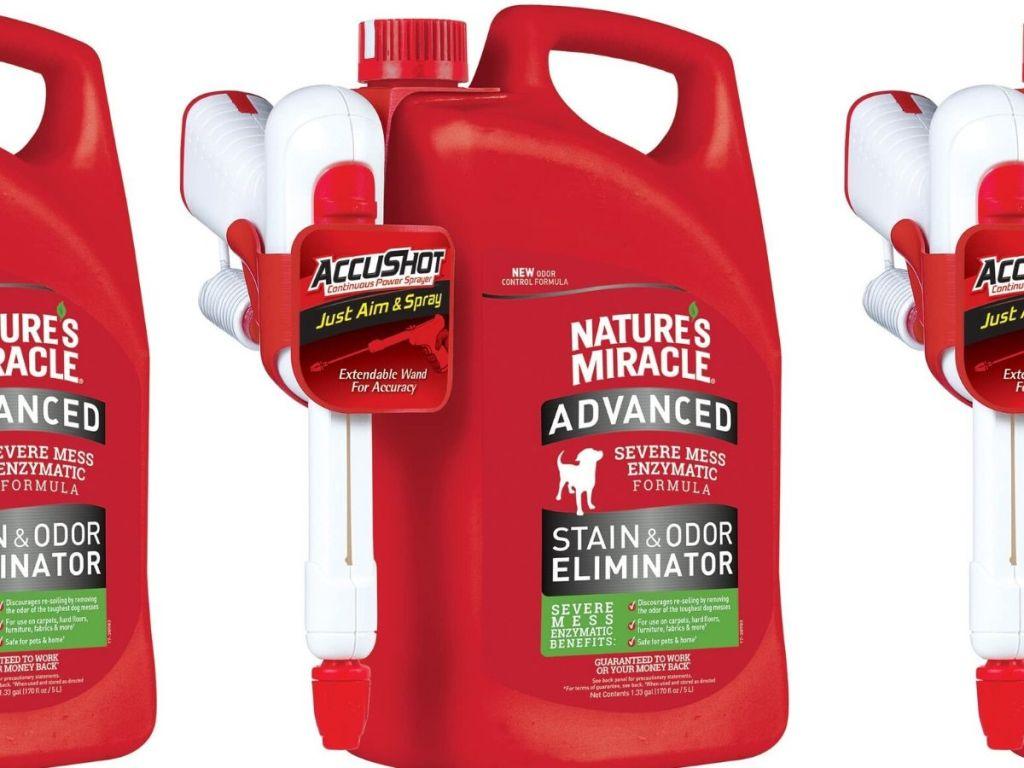 Nature's Miracle Stain Odor Eliminator Cleaner
