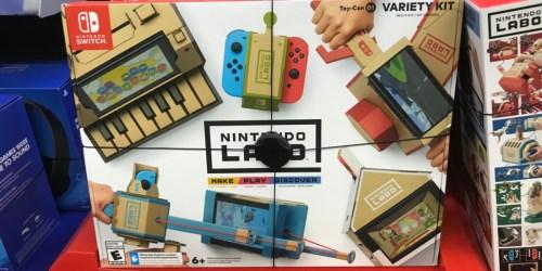 Nintendo Switch Labo Kits Only $19.99 (Regularly $60+)