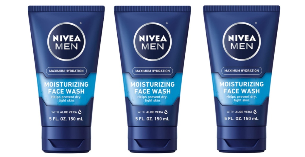 Nivea Mens Moisturizing Face Wash
