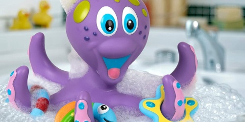 Nuby Floating Octopus Bath Toy from $5.59 on Bed Bath & Beyond | Awesome Reviews
