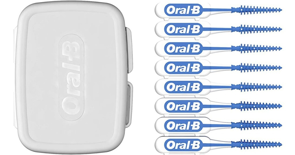 Oral-B Floss Picks and Case