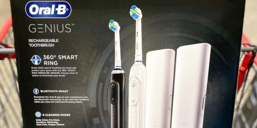 Oral-B Genius Rechargeable Toothbrush 2-Pack Only $104.98 Shipped on Costco.com (Regularly $150)