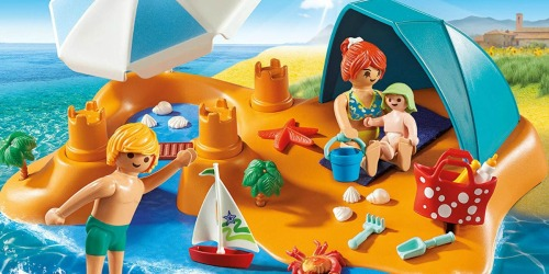 PLAYMOBIL Family Beach Day Only $9.49 (Regularly $25)