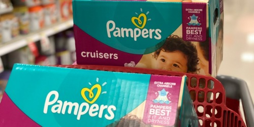 Free $20 Target Gift Card w/ $100+ Baby Purchase | Save on Pampers & Huggies