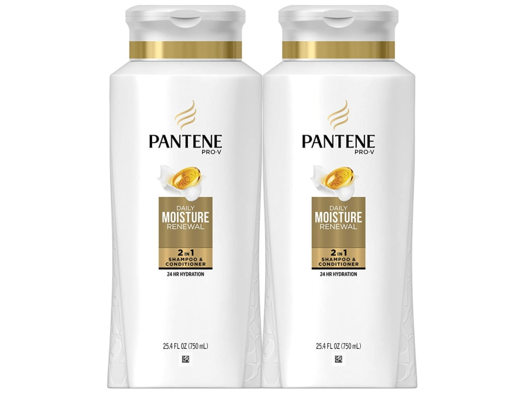 Pantene Daily Moisture Shampoo and Conditioner