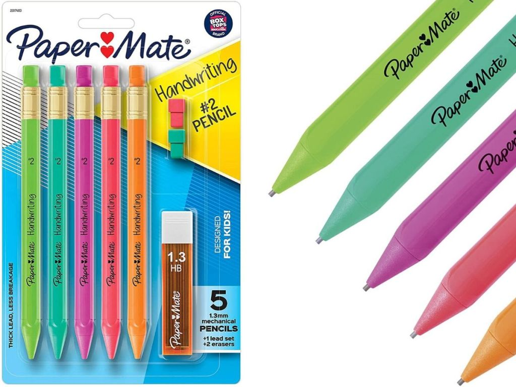 pack of mechanical pencils