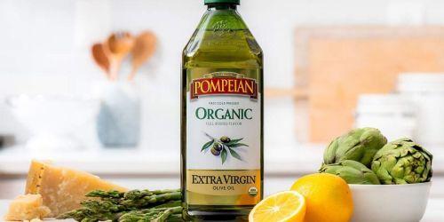 Pompeian Organic Extra Virgin Olive Oil 48oz Bottle Just $7.67 Shipped on Amazon