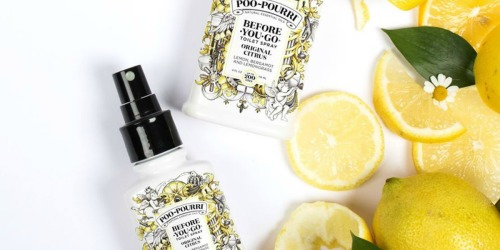 FREE Shipping on All Orders + Poo-Pourri Toilet Sprays from $6.47 (Regularly $10)