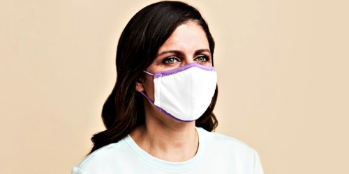 TWO Purple Non-Medical Face Masks Just $20 Shipped | Designed w/ Comfort in Mind