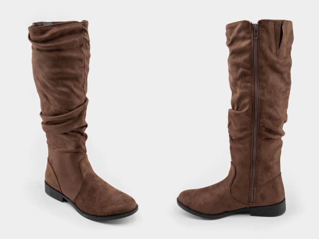Qupid Zion Scrunched Tall Boots
