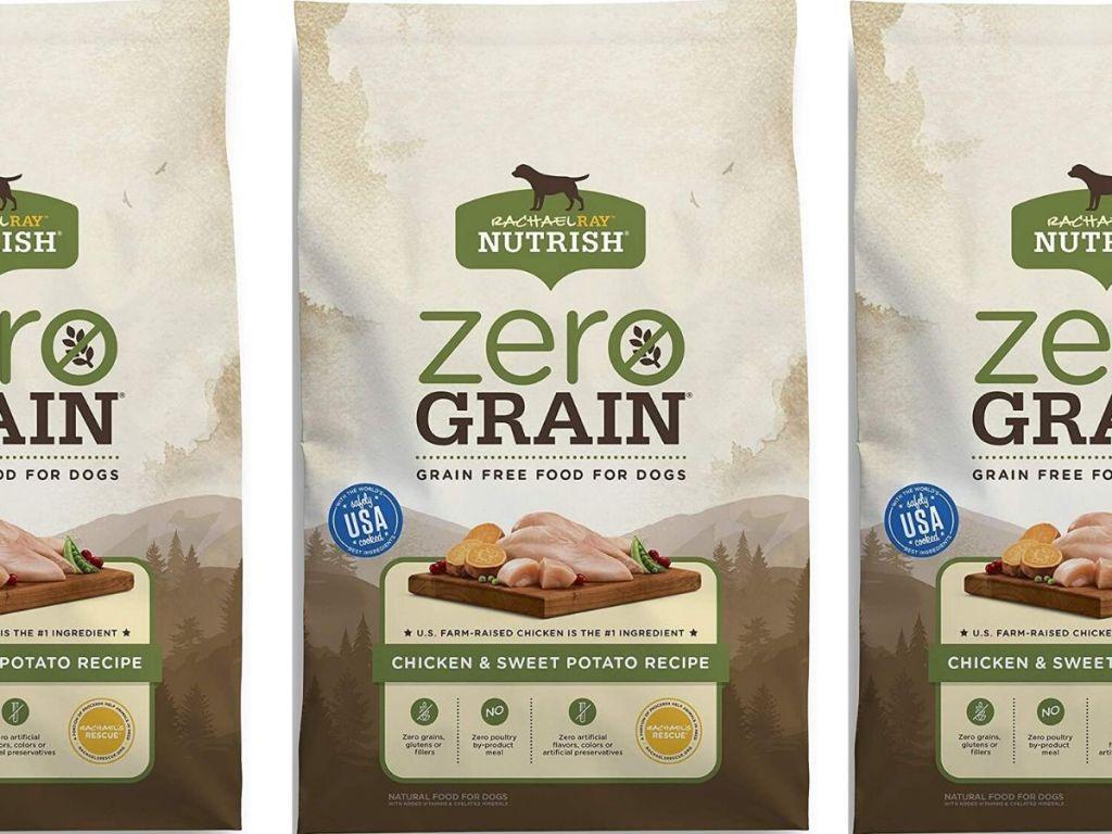 big bag of grain free dog food