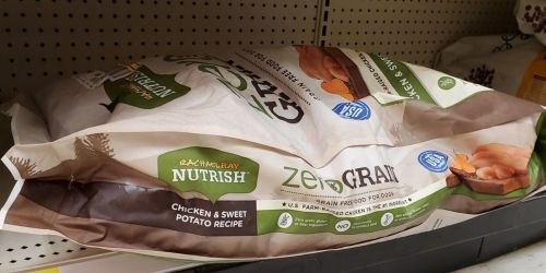 Rachael Ray Nutrish Zero Grain Dog Food 28-Pound Bag Just $25.73 Shipped on Amazon (Regularly $43)
