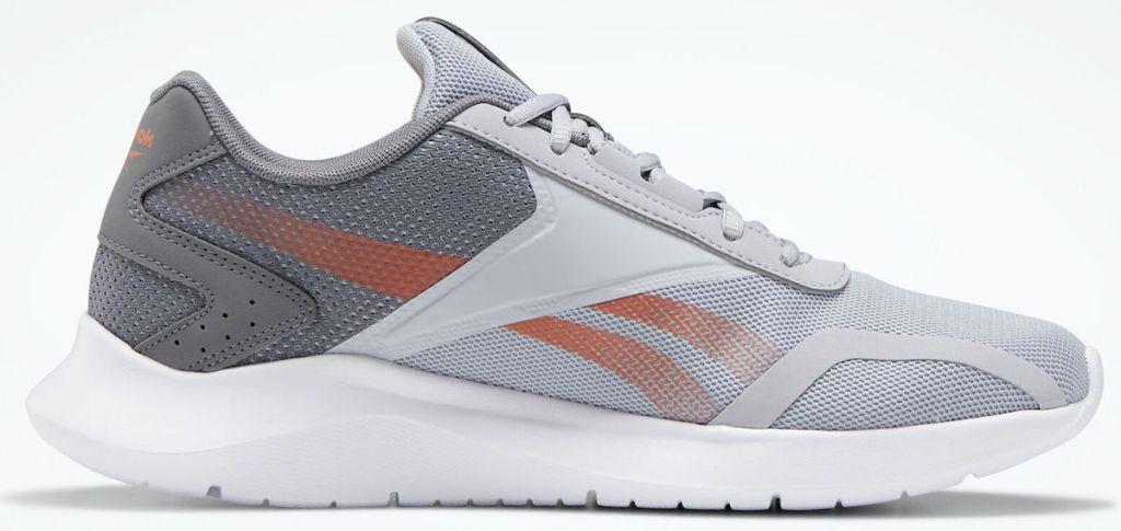 grey, white, and orange Reebok EnergyLux 2 Shoes Mens