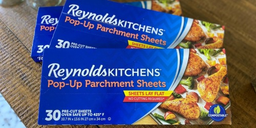 Reynolds Pop-Up Parchment Sheets 30-Count Only $2.29 Shipped on Amazon