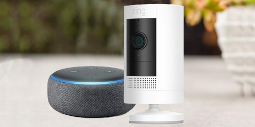 Ring Camera & Echo Dot Bundle Just $84.99 Shipped on Amazon (Regularly $150)
