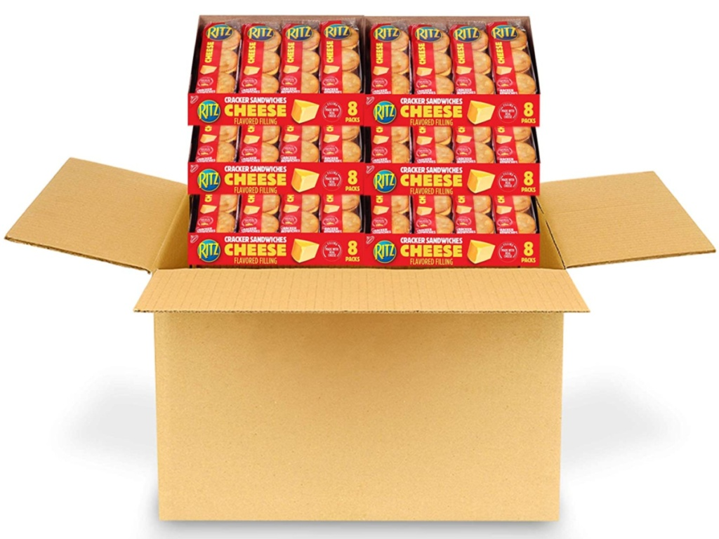 Ritz Cheese Sandwich Crackers 48 count in box