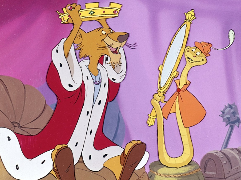 Disney's Robin Hood with sheriff and Snake dancing