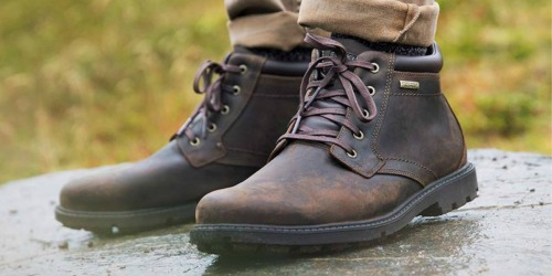 Rockport Men's Waterproof Boots Just $49.98 Shipped on Amazon (Regularly $130)