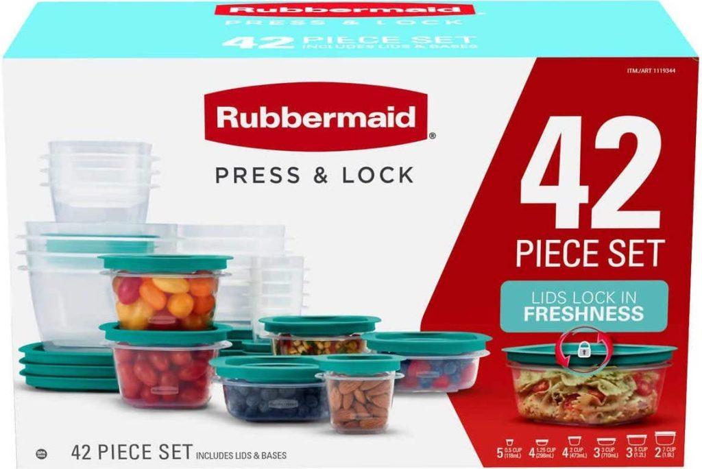 Rubbermaid Press & Lock 42 Set
