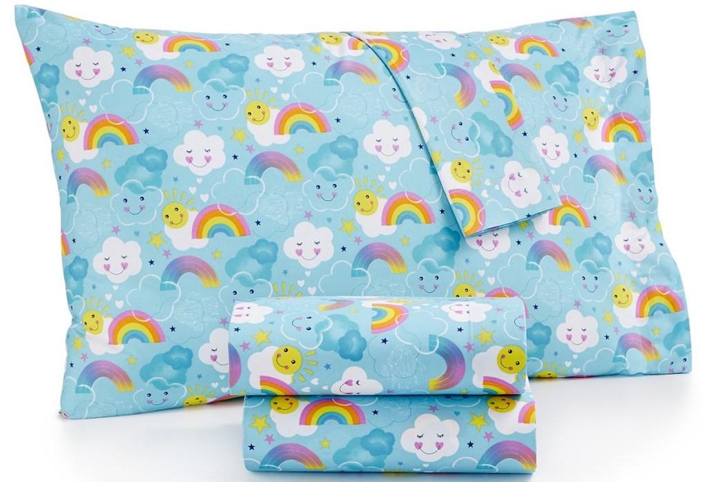sheet set and pillow