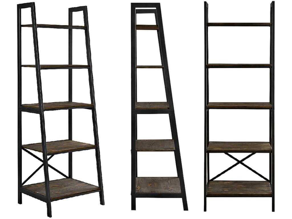 Scott Living Hamilton 5-Tier Ladder Bookshelf