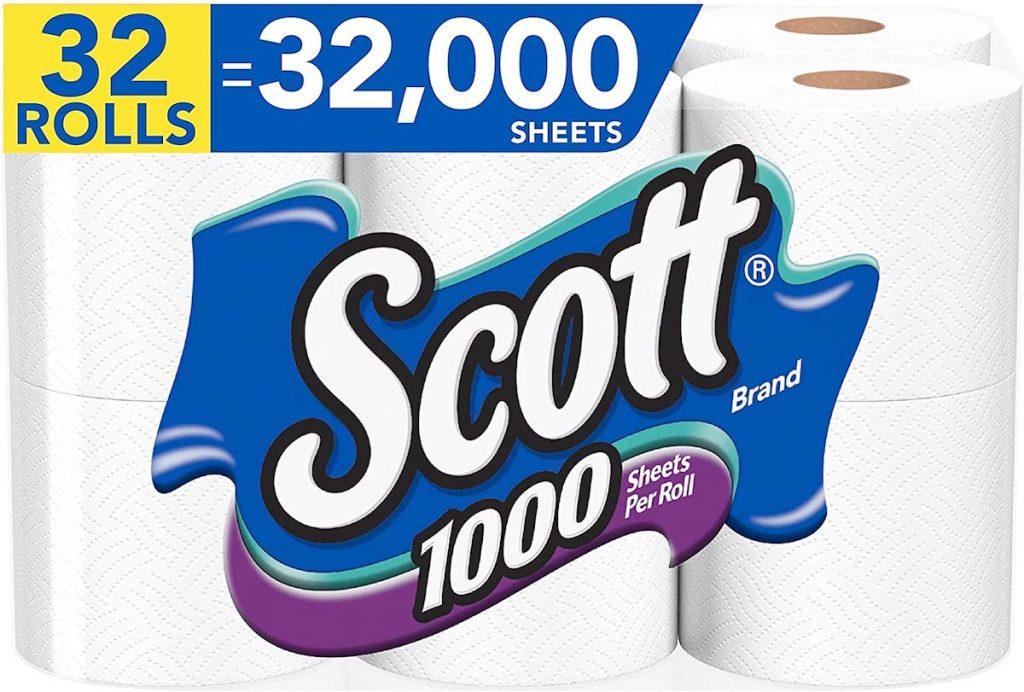 package of Scott Toilet Paper
