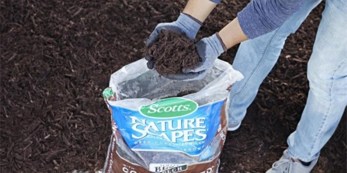Scotts Color Enhanced Mulch Only $2 at Lowe's (Regularly $4)