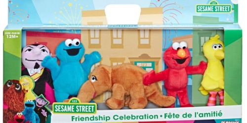 Sesame Street Mini Plush 5-Pack Only $20.99 on Best Buy (Regularly $40)