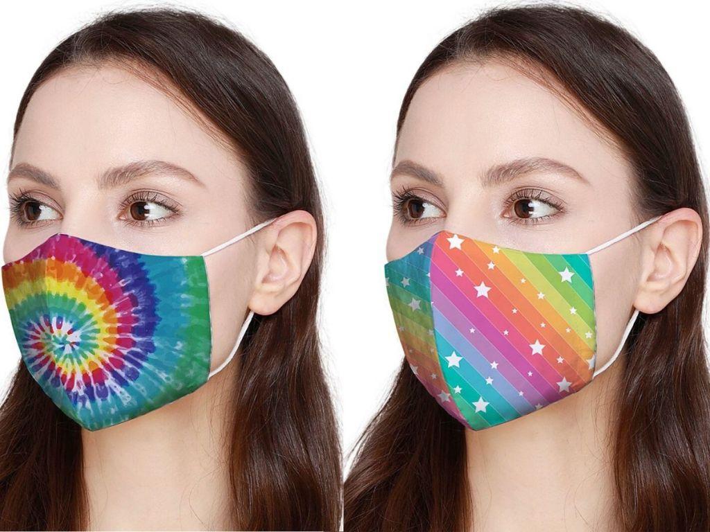 Colorful Facial Masks