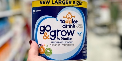 50% Off Similac Go & Grow Drink Powders at Target | In-Store & Online