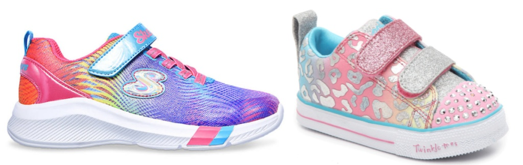 Skechers colorful shoes for girls