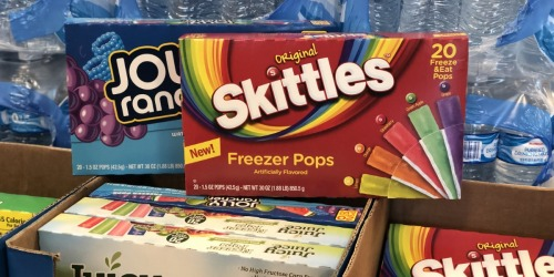 New Skittles Freezer Pops Now Available in Select Stores