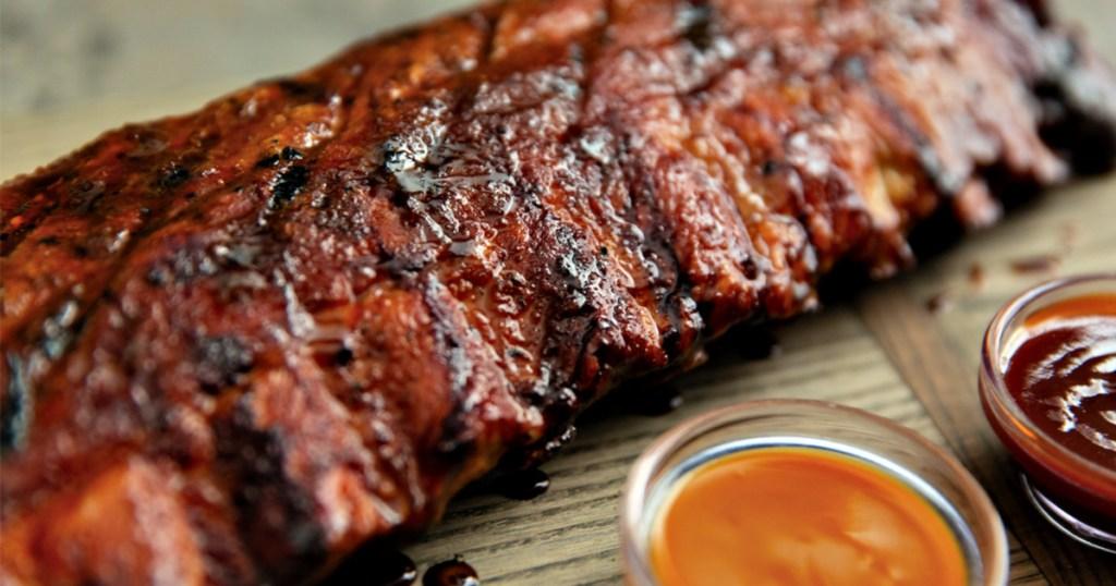 Smokey Bones ribs