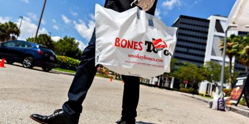 Bones Basics Meals from Smokey Bones as Low as $24.99