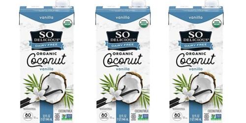 So Delicious Vanilla Coconut Milk 32-Ounce Only $1.87 Shipped on Amazon