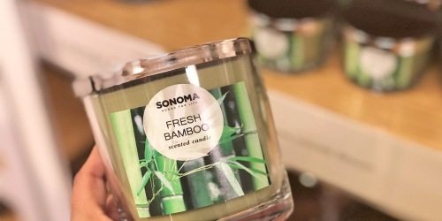 SONOMA Goods for Life Candles as Low as $6.99 Each on Kohls.com