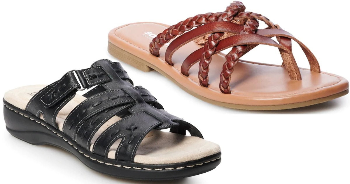 Up to 85% Off Women's Sandals on Kohls